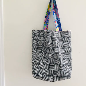 Copy of Tweety Blue - Maxi Reversible Tote