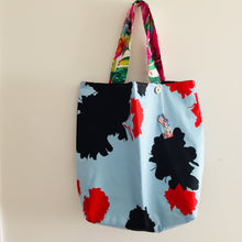 Load image into Gallery viewer, Tropical Leopard - Maxi Reversible Tote