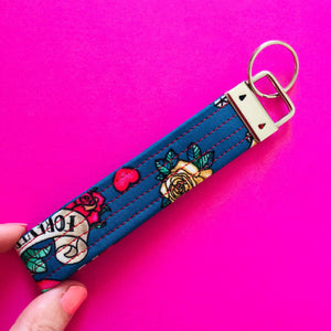 Wristlet Key Fob - Seas the Day
