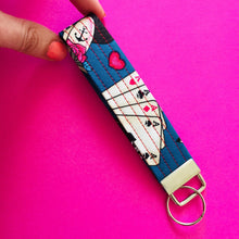 Load image into Gallery viewer, Wristlet Key Fob - Seas the Day