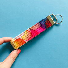 Load image into Gallery viewer, Wristlet Key Fob - Inky Drops