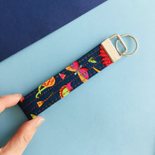 Load image into Gallery viewer, Wristlet Key Fob - Rainforest