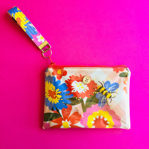 Wristlet Key Fob - Busy Bee