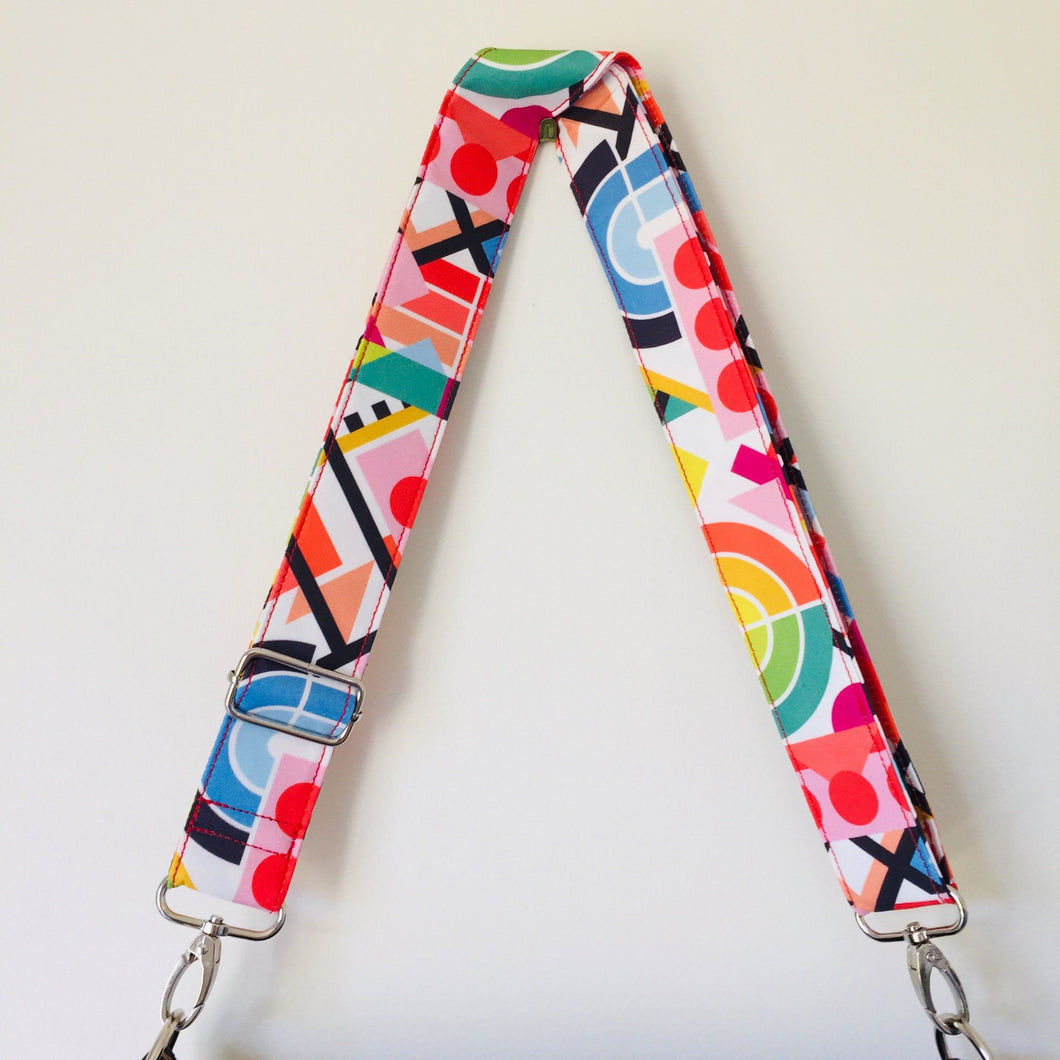 Colour Geo - Adjustable Shoulder Strap