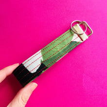 Load image into Gallery viewer, Wristlet Key Fob - Banana Leaf