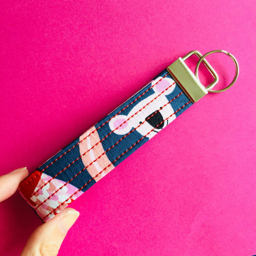 Wristlet Key Fob - Australian Animals