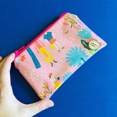 Gathering Pink - Clutch