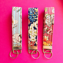 Load image into Gallery viewer, Wristlet Key Fob - May Gibbs Gumnut Babies Dusky Pink