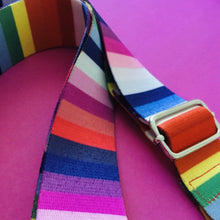 Load image into Gallery viewer, Adjustable Shoulder Strap - Rainbow Stripes