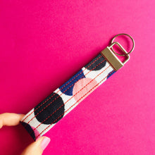 Load image into Gallery viewer, Wristlet Key Fob - Rainbow Pop