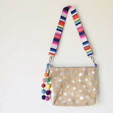 Load image into Gallery viewer, Pouch Plus+ Strap - Silver Dot