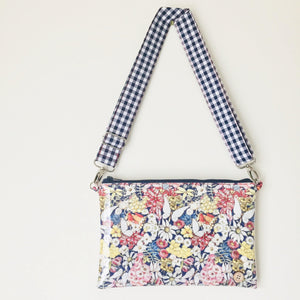 Purse Plus+ Strap - Gumnut babies Navy Floral