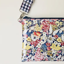 Load image into Gallery viewer, Purse Plus+ Strap - Gumnut babies Navy Floral