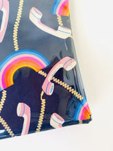 Load image into Gallery viewer, Purse Plus+ Strap and Leather Charm - Rainbow Telephone