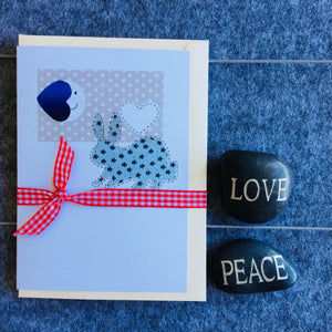 Little Bluey Bunny - 5 Card Pack