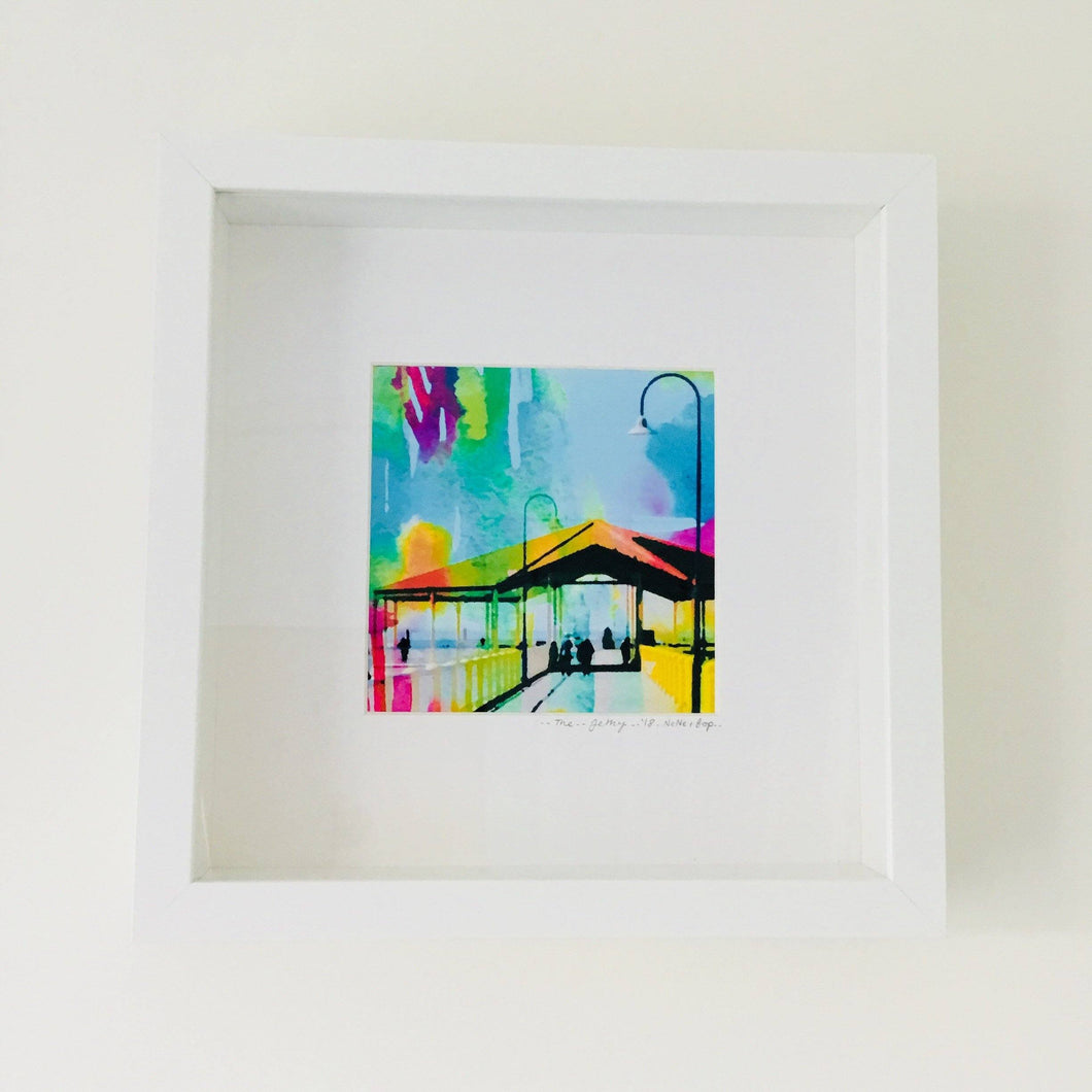 The Jetty - Framed Print