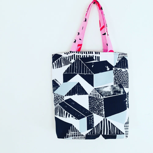 Urban Life - Midi Reversible Tote Bag