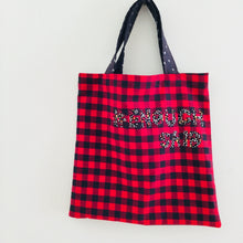 Load image into Gallery viewer, Enough Said - Quote Tote, single sided bag.