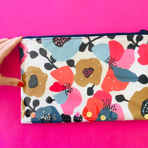 Autumn Blooms - Clutches and coin purse