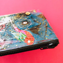 Load image into Gallery viewer, Pinky Parrot Glitter - Clutch
