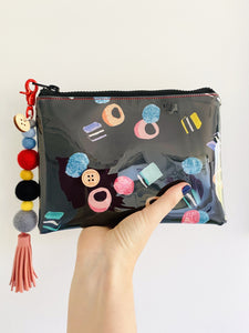 Liquorice Allsorts - Midi Clutch plus Charm and wristlet 4