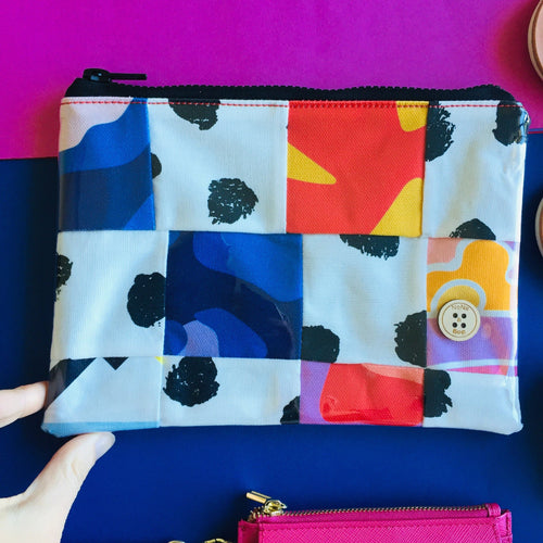 Patchwork - Midi Clutch