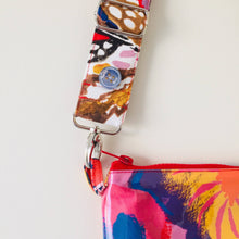 Load image into Gallery viewer, Pansy Purse Plus+ with adjustable strap