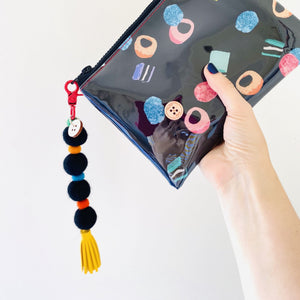 Liquorice Allsorts - Midi Clutch plus Charm and wristlet 3