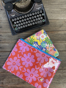 Red and Pink Floral - Planner Pouch