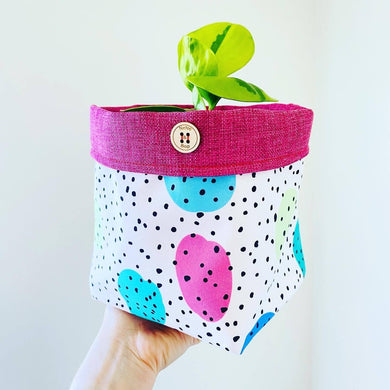 Planter - Pebble & Spots