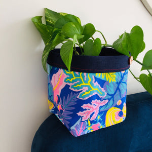 Planter - Blue Rainforest