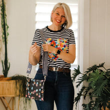 Load image into Gallery viewer, Liquorice Allsorts - Large Purse Plus+ with adjustable strap