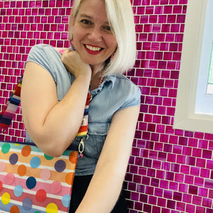 Rainbow Sprinkles - Purse Plus+ Strap
