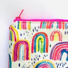 Load image into Gallery viewer, Rainbow Glitter - Planner Pouch