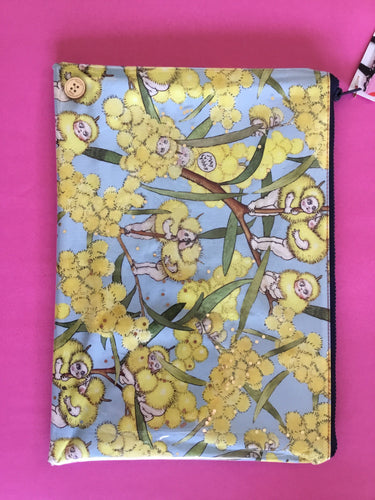 May Gibbs Blossom Babies - Planner Pouch