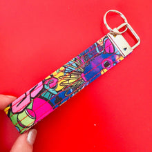 Load image into Gallery viewer, Wristlet Key Fob -90's Kids