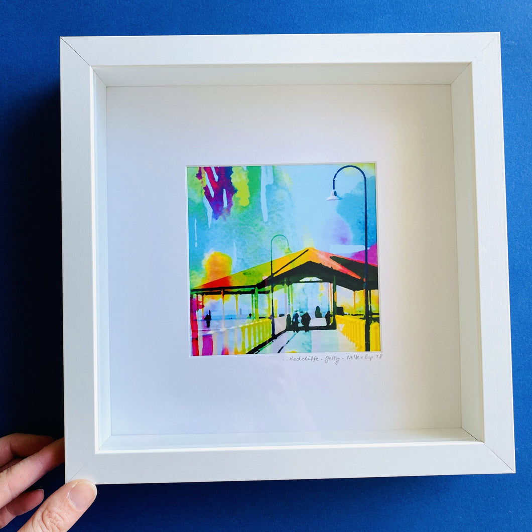Redcliffe Jetty - Framed print