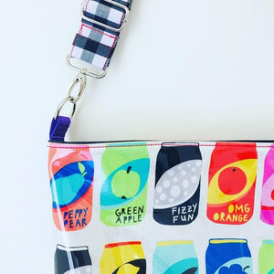 Fizzy Fun Bubbles - Pouch Plus+ Strap and charm
