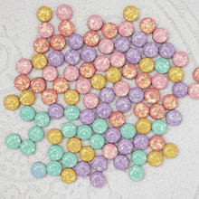Load image into Gallery viewer, Auburn Designs - Yellow Glitter Studs
