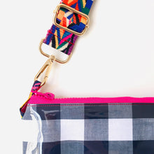 Load image into Gallery viewer, Gingham Purse Plus+ with adjustable strap