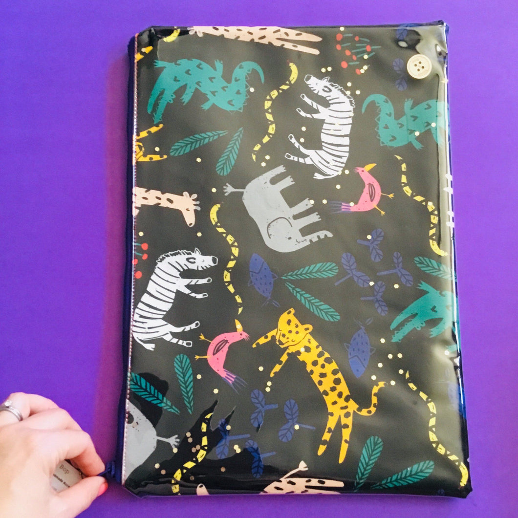 Black Jungle - Planner Pouch