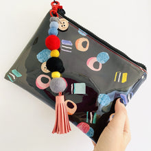 Load image into Gallery viewer, Liquorice Allsorts - Midi Clutch plus Charm and wristlet 4