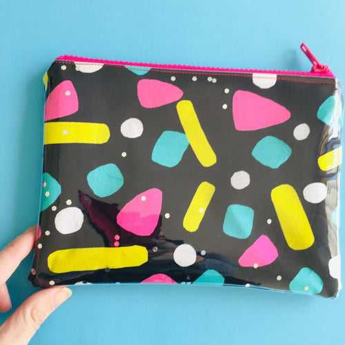 Meg Makes Neon Pebble - Clutch