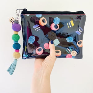 Liquorice Allsorts - Midi Clutch plus Charm and wristlet 1