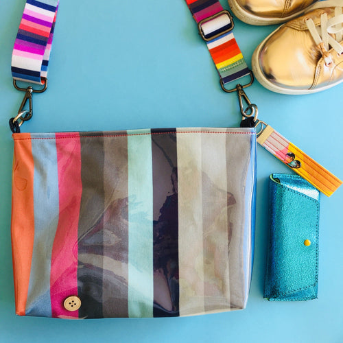 Pouch Plus+ Strap - Candy Stripes