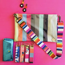 Load image into Gallery viewer, Purse Plus+ Strap - Candy Stripes