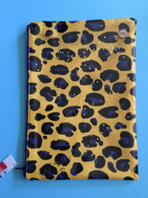 Load image into Gallery viewer, Yellow Leopard - Planner Pouch