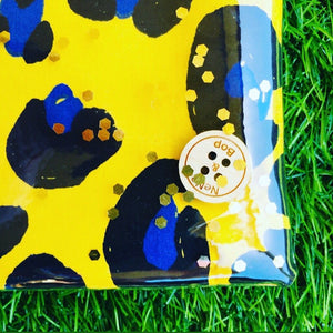 Yellow Leopard - Planner Pouch