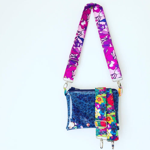 Be You and Bloom Purse Plus+ with adjustable strap