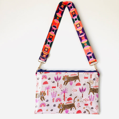 Tiger Purse Plus+ with adjustable strap